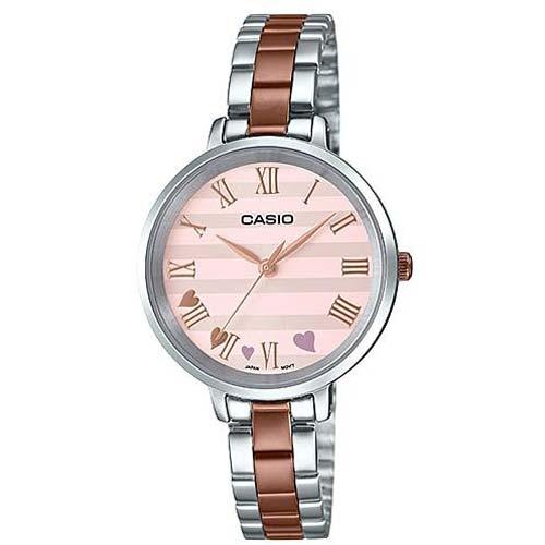 Женские часы Casio Collections LTP-E160RG-4A