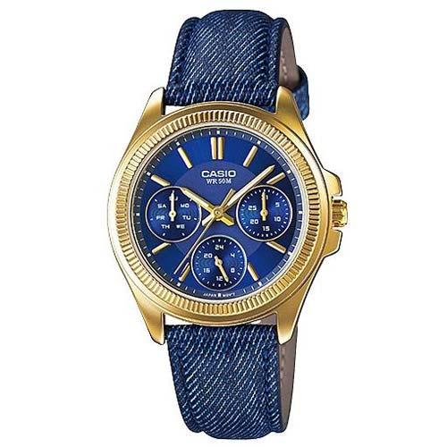 Женские часы Casio Collections LTP-E304GBL-2A