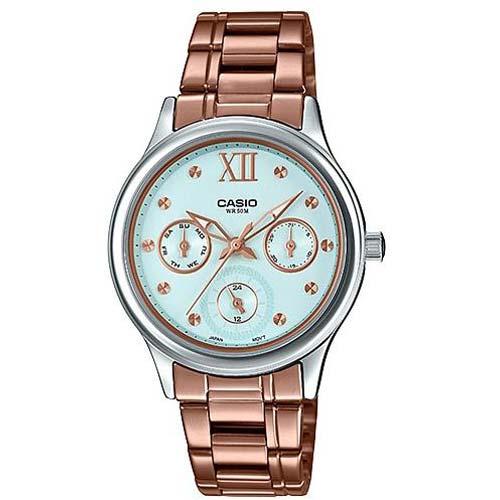 Женские часы Casio Collections LTP-E306R-2A